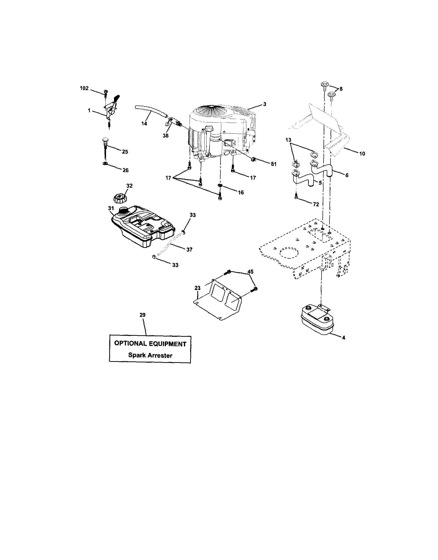 Lawn Mower Engine Parts Diagram Gravely Zt Hd 60 Parts