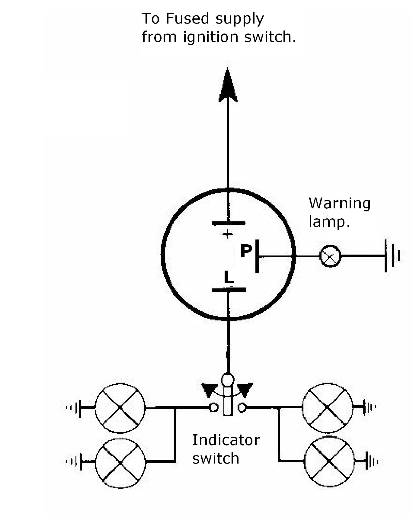 Wiring Diagram For 3 Prong Flasher