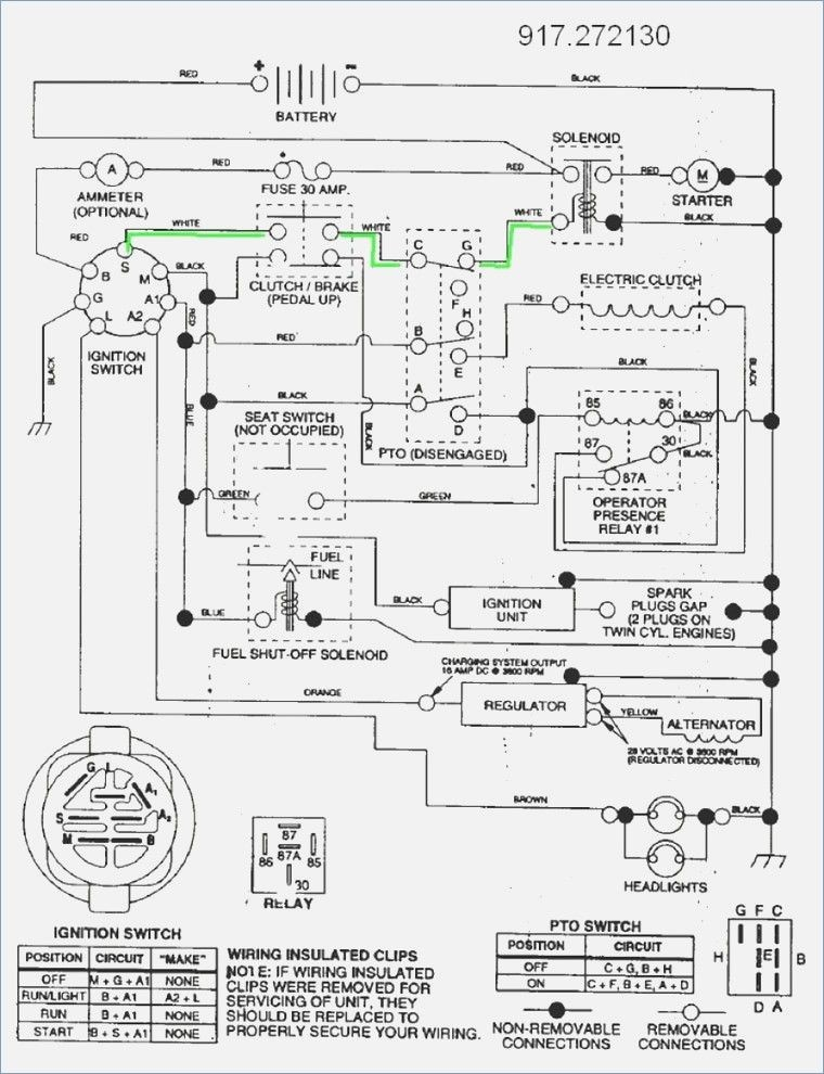 Wiring Diagram for Gt 5000 Tractor Craftsman Gt5000 Pto
