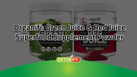 Organifi Superfood Supplement Powder