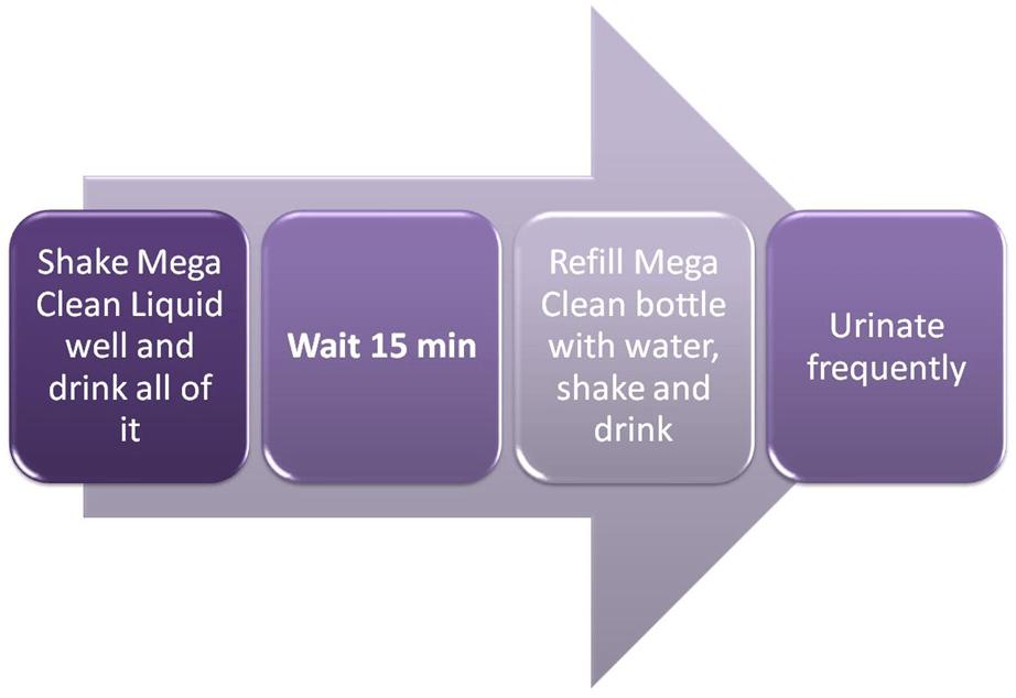 MEGA Clean Detox Instructions