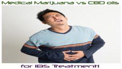 Medical Marijuana vs CBD oil for IBS treatment