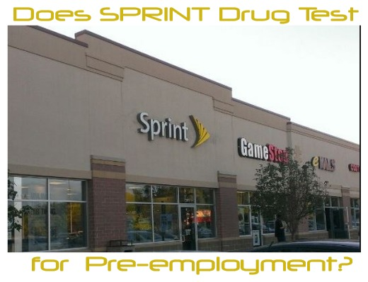 Does Sprint Drug Test for Pre-employment?