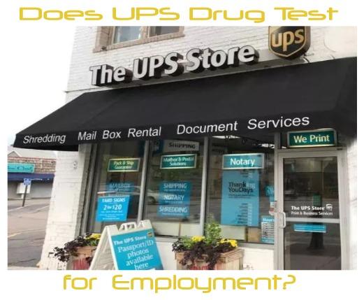Does UPS Drug Test for Employment?