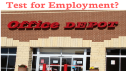 Does Office Depot Drug Test for Employment?