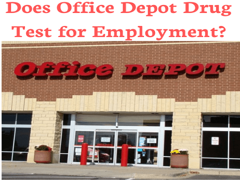 Does Office Depot Drug Test for Employment?