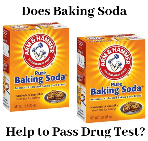 Does baking soda help to pass drug test?