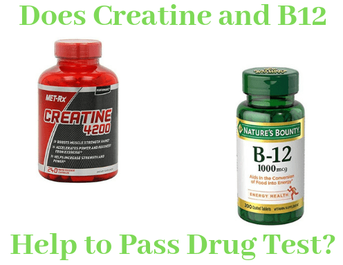 Do Creatine and B12 Help to Pass Drug Test