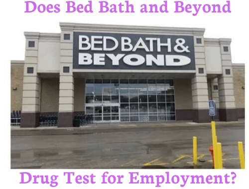 Does Bed Bath and Beyond Drug Test for Employment?