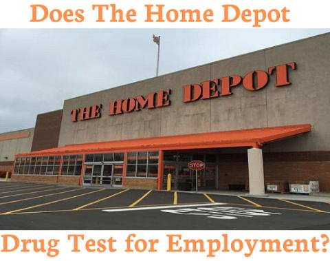 Does Home Depot Drug Test for Employment?