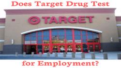 Does Target Drug Test for Employment