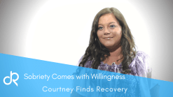 Courtney was Heroin Addicted and Hopeless