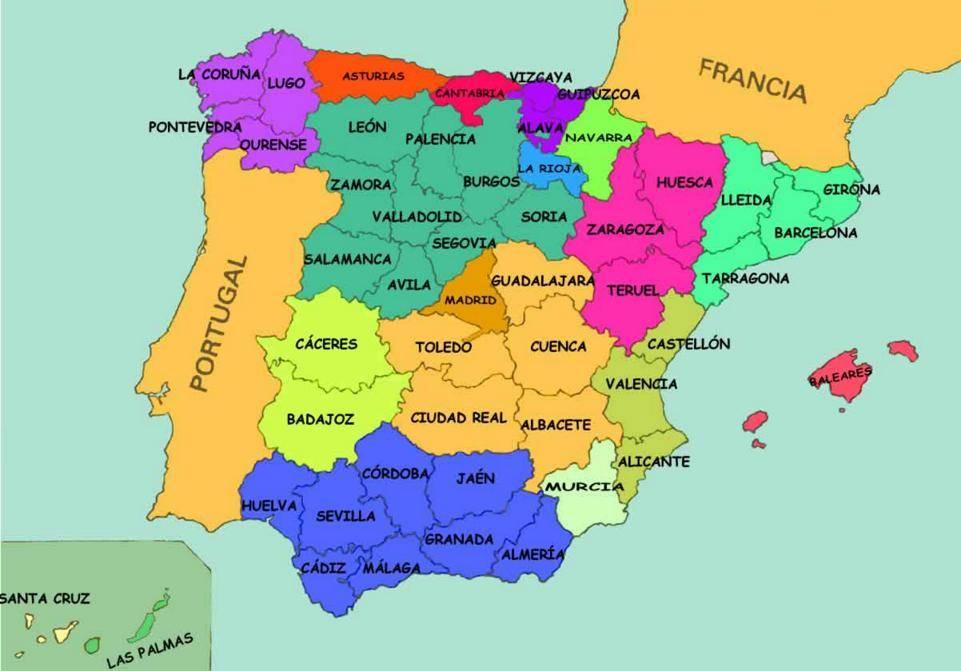 خريطة العالم أسبانيا إسبانيا على المسرح العالمي الحديث