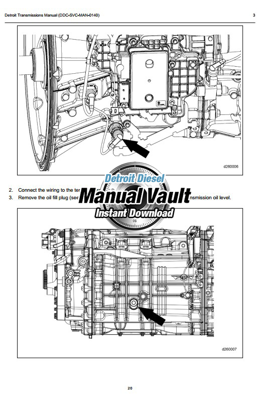 Detroit DT12 Transmission Workshop Manual PDF