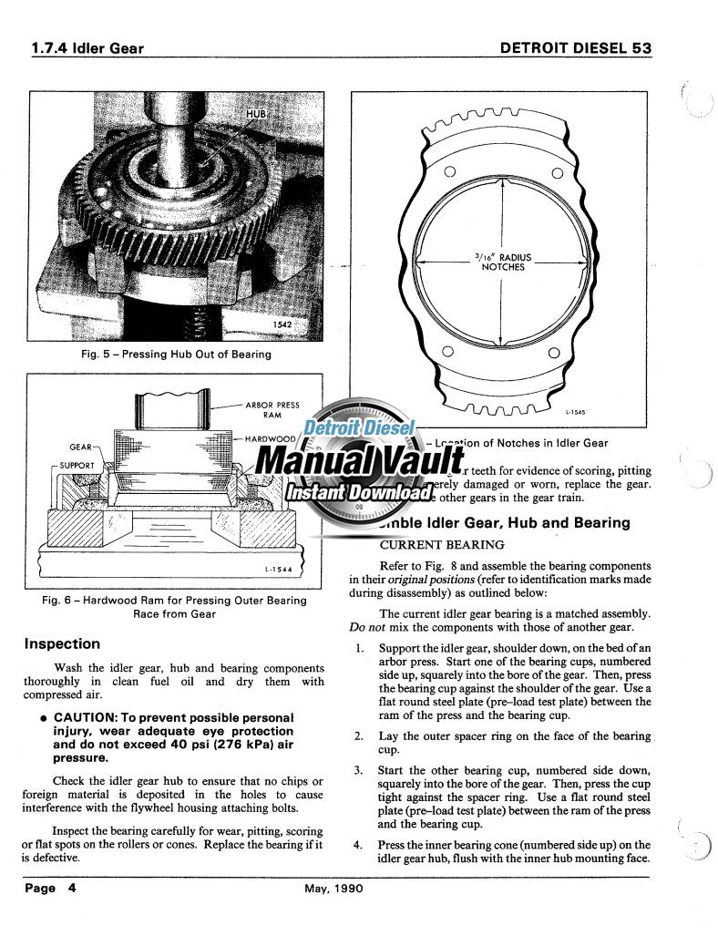 Detroit Diesel Series 53 Engine Service Manual PDF