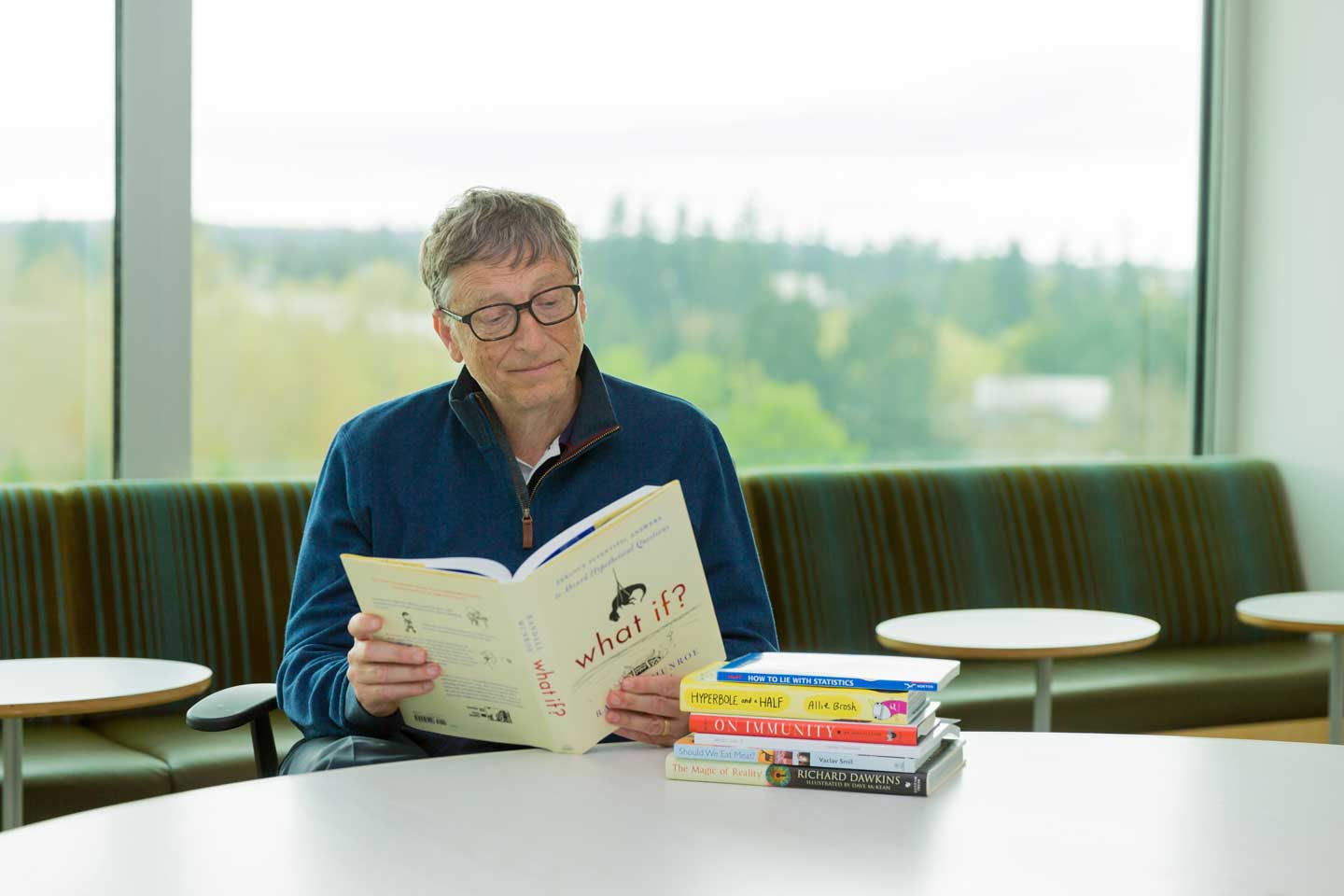 How To Read More Books Bill Gates Reads At Least 50