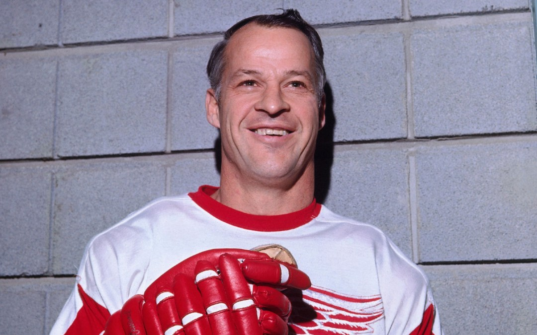 Win a FREE PERSONALIZED AUTOGRAPHED Book from Gordie Howe's son Dr. MURRAY HOWE!