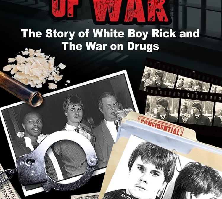 Win a FREE Personalized Autographed Copy of 'Prisoner of War: The Story of White Boy Rick and the War on Drugs'!