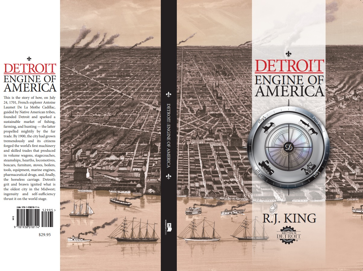 Win a signed copy of Detroit: Engine of America (2019) By: R.J. King
