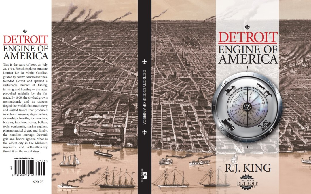 Win a FREE Personalized Autographed Copy of 'Detroit: Engine of America' signed by author R.J. KING!