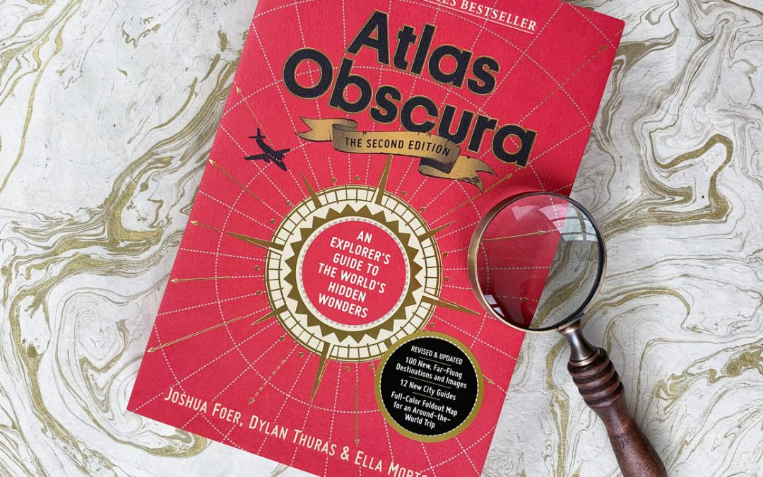Win a FREE Autographed Copy of 'Atlas Obscura, 2nd Edition: An Explorer's Guide to the World's Hidden Wonders' signed by co-creator DYLAN THURAS!