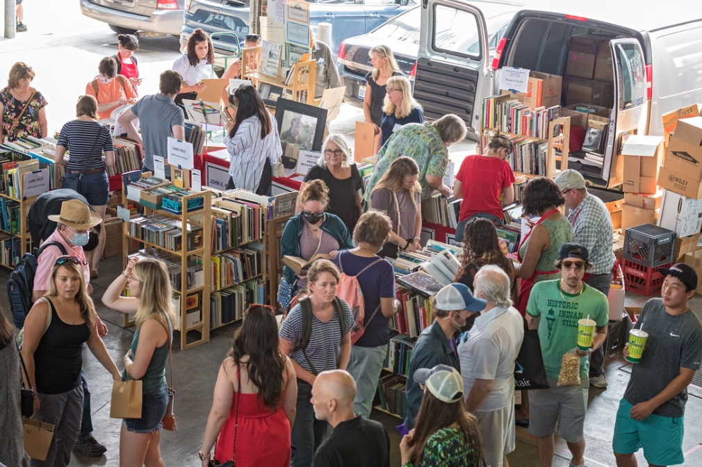 Photos from the 4th annual Detroit Festival of Books @ Eastern Market