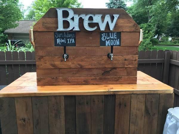 Rustic Beer Tap Bar Detroit Chiavari