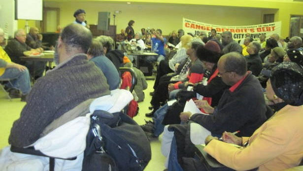 Emergency Town Hall meeting, March 2, 2014