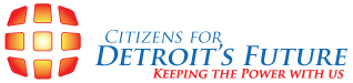 Citizens for Detroits Future logo
