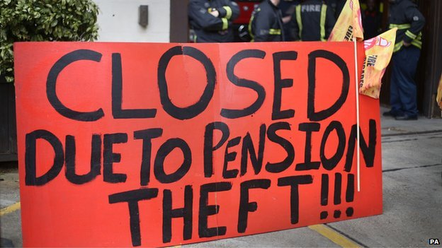 Firefighters in England and Wales begin series of strikes in a long-running pensions fight