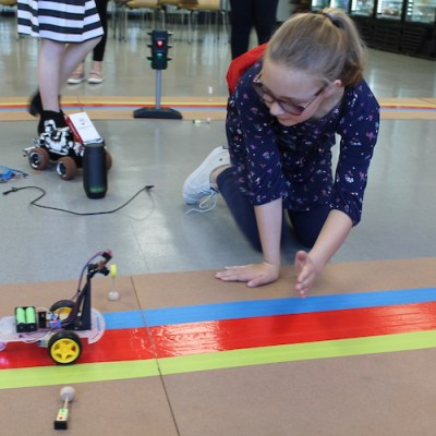 Conquering the unknown is goal for kids at hackathon event