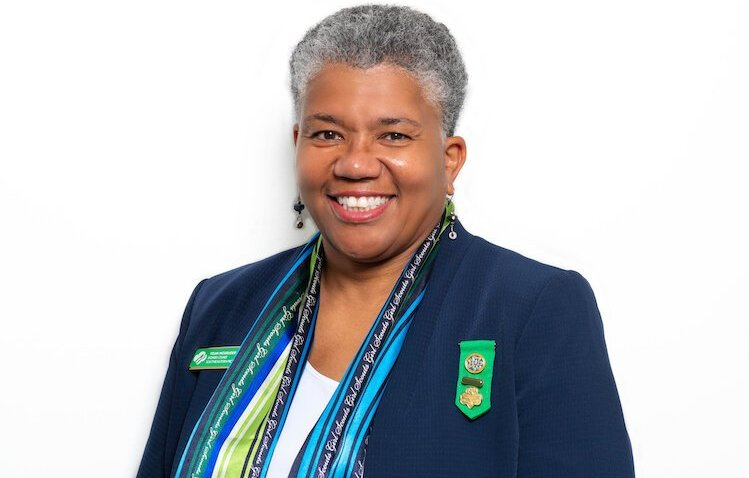 Telva McGruder is chair of the board of directors with Girl Scouts of Southeastern Michigan