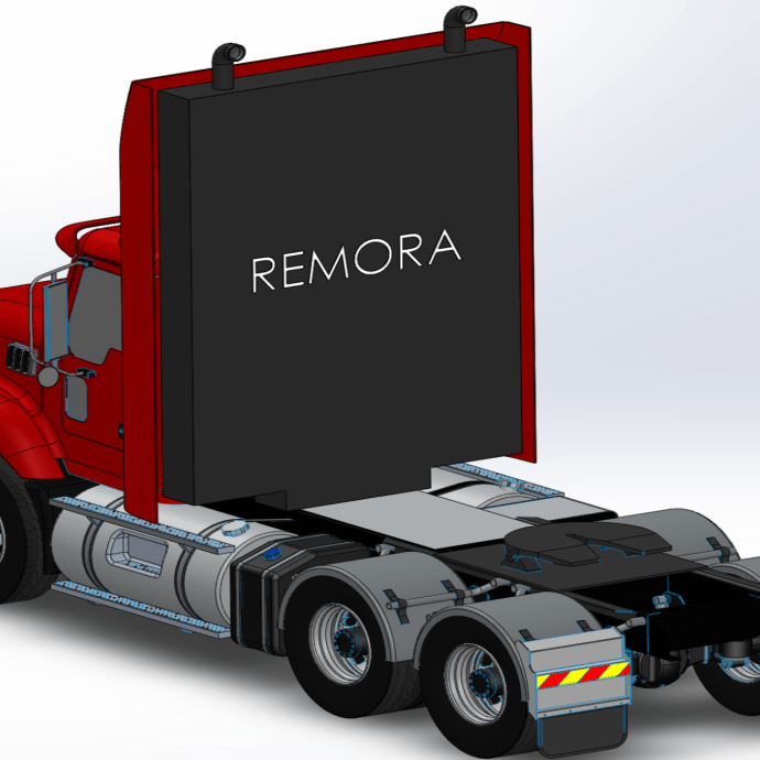 Startup Remora aims to cut semi-truck emissions by 80 percent