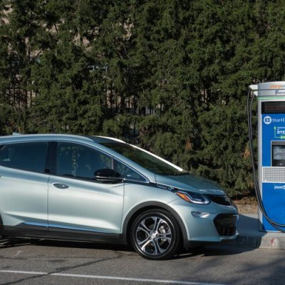 New charging stations in Detroit's Beacon Park amp up electric vehicle awareness