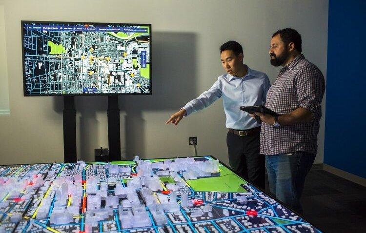 Working on Ann Arbor's City Insights Platform.