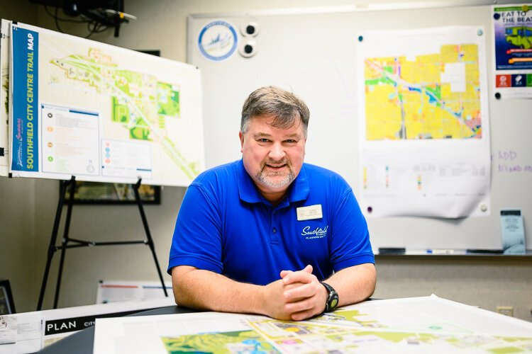 Southfield director of planning Terry Croad.