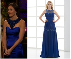 Desiree Hartsock Blue Dress