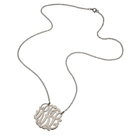 Jennifer Zeuner Initial Necklace