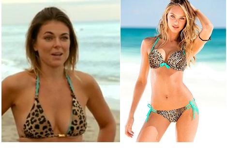 Paige bikini