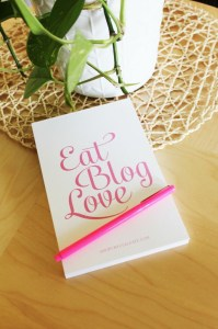 Eat Blog Love Notepad
