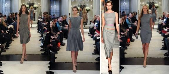 grey dresses