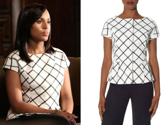 the limited check peplum