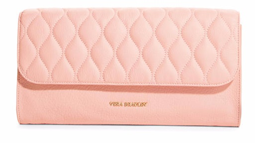 Quilted harper clutch
