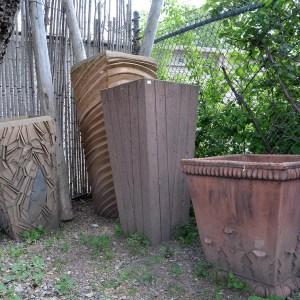 Barn Wood Pot