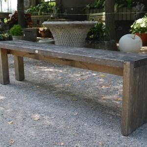 Contemporary Oak Bench
