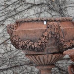 English Cast Concrete Buckingham Urn 2