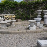 English David Sharp Modern Limestone Fountain Surround 2