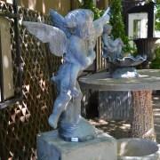 English Lead Fountain Ornament 2