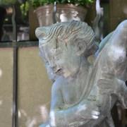 English Lead Fountain Ornament Detail