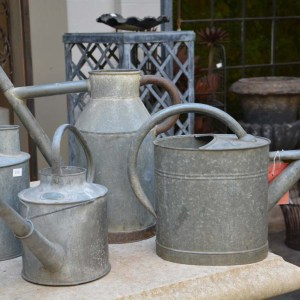 Vintage Galvanized Watering Cans